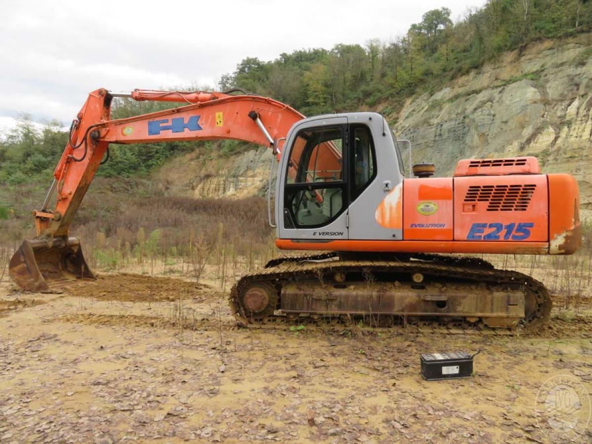 Escavatore Fiat Kobelco E215    GARA ONLINE 22 SETTEMBRE 2020