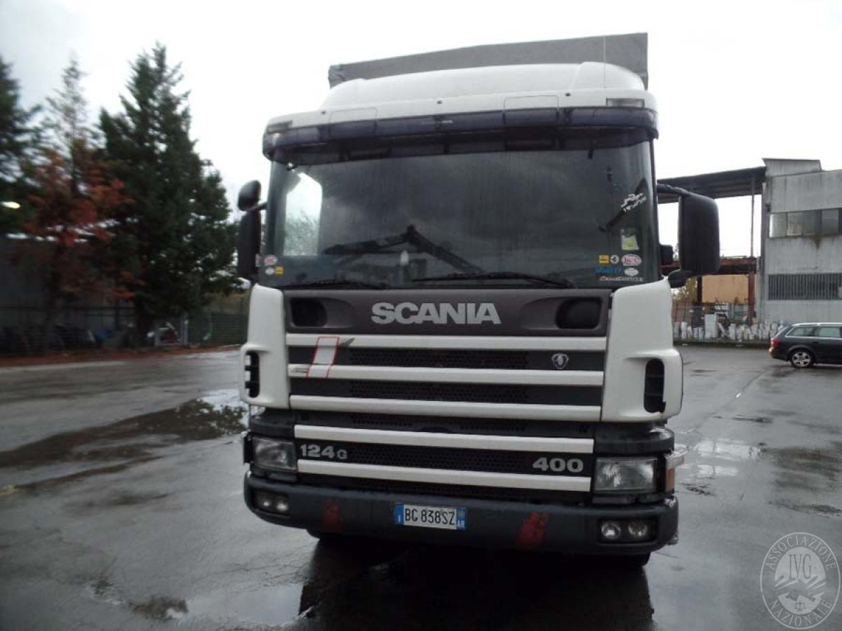 Rif. 11) Scania 124G 400 provvisto di pedana   GARA DI VENDITA 6 APRILE 2019  VISIBILE PRESSO DEPOSITERIA IVG SIENA
