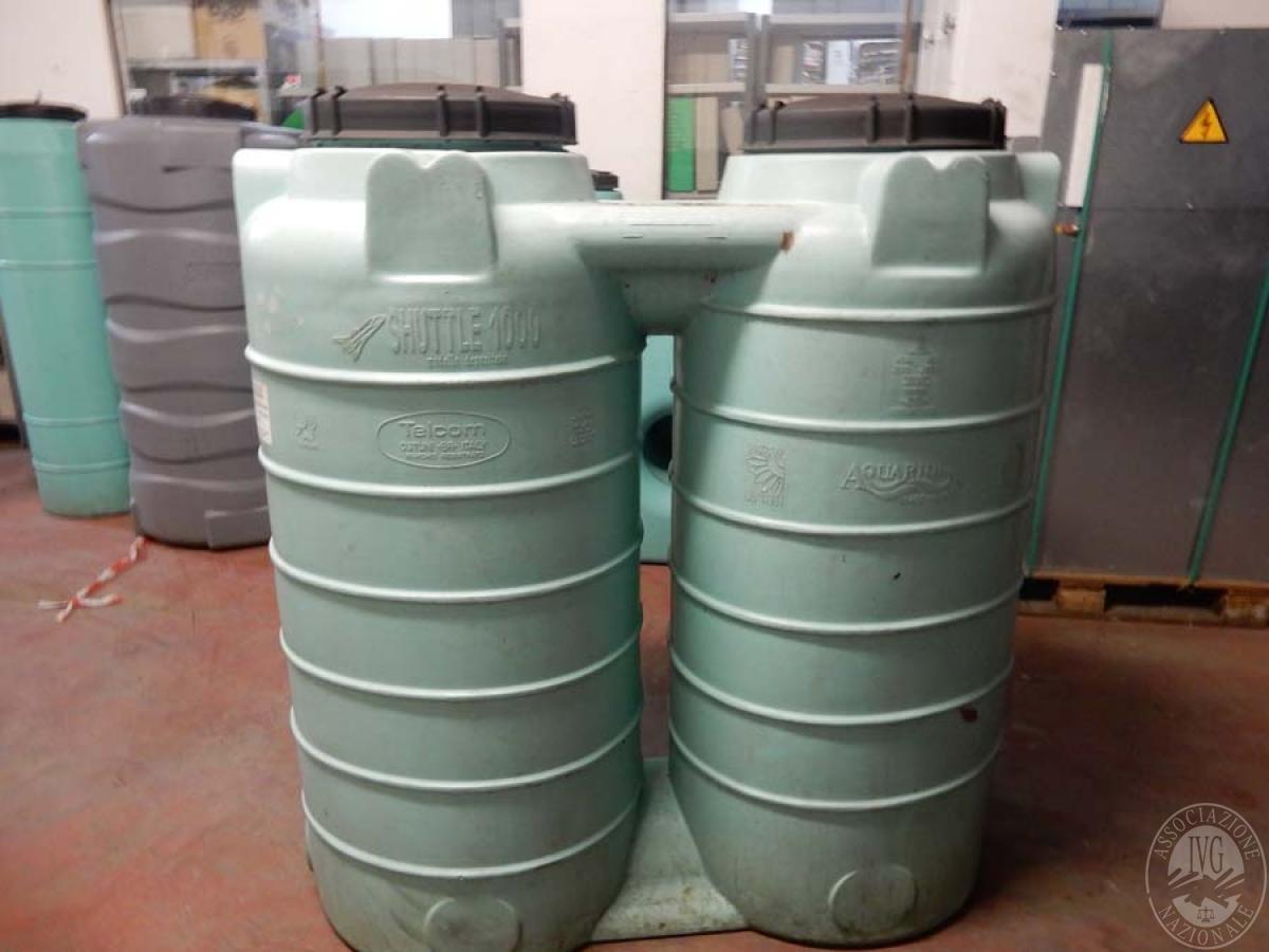 Rif. 6) Serbatoio bicamerale da 1.000 litri  VENDITA ONLINE