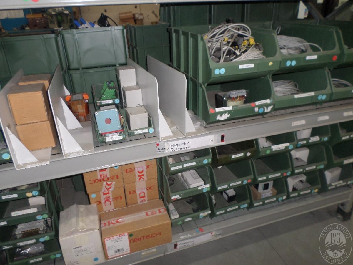 Importante magazzino componenti costruzione e ricambistica macchinari lavorazione legno 18