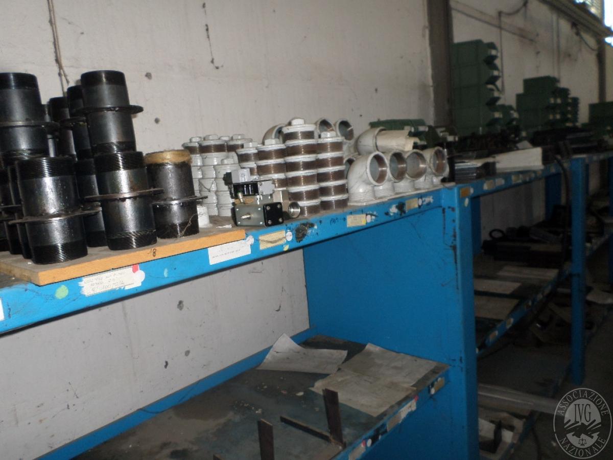Importante magazzino componenti costruzione e ricambistica macchinari lavorazione legno 26