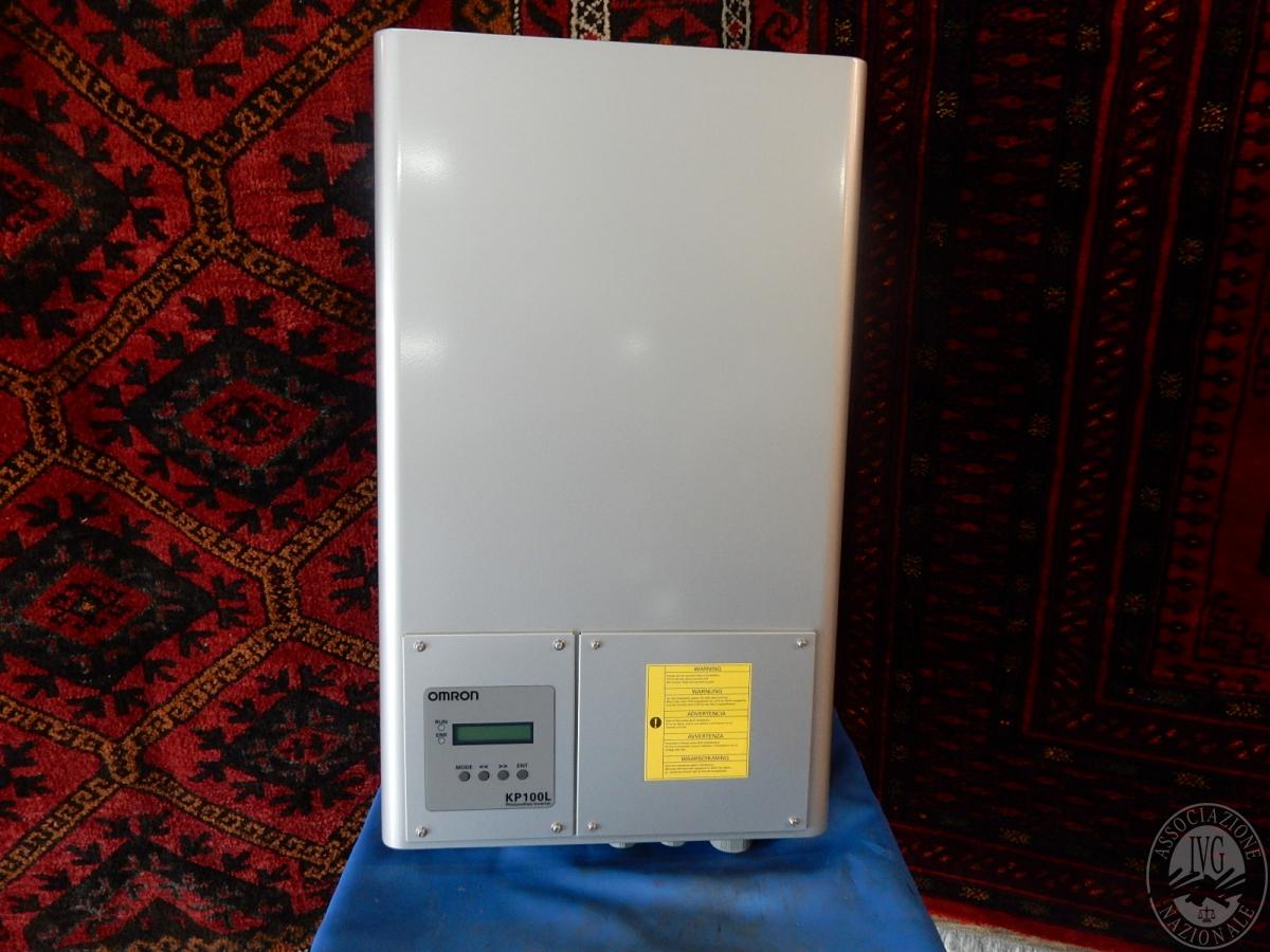 Rif. 55/3) Inverter fotovoltaico OMRON da 10 KW, nuovo  GARA DI VENDITA 6 APRILE 2019
