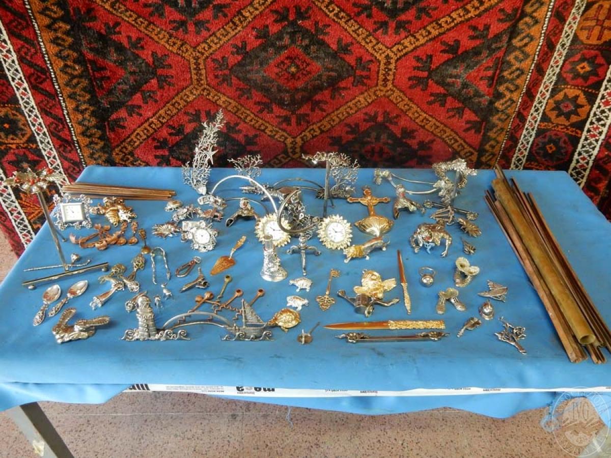 Rif. A) Materiale in ottone e bronzo semilavorato  VENDITA ONLINE