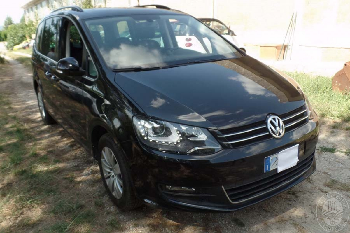 Volkswagen Sharan anno 2015   GARA DI VENDITA 6 OTTOBRE 2018