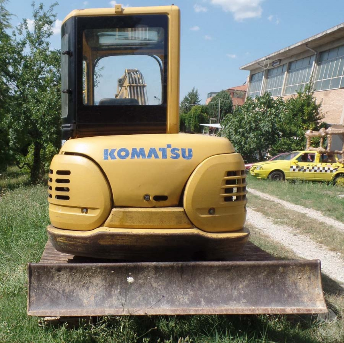 Escavatore Komatsu PC45R   GARA DI VENDITA 6 OTTOBRE 2018  VISIBILE PRESSO DEPOSITERIA IVG SIENA