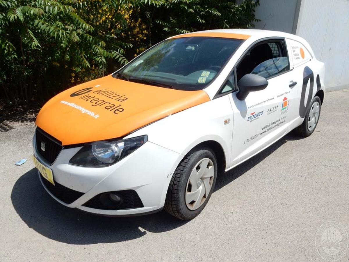 Autocarro Seat Ibiza anno 2012  GARA DI VENDITA 1 DICEMBRE 2018  VISIBILE PRESSO DEPOSITERIA IVG SIENA