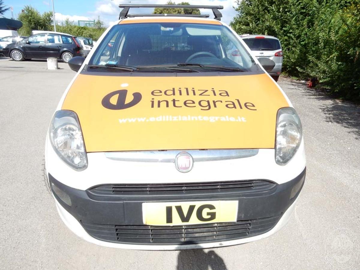 Fiat Punto VAN EVO anno 2011  GARA DI VENDITA 1 DICEMBRE 2018