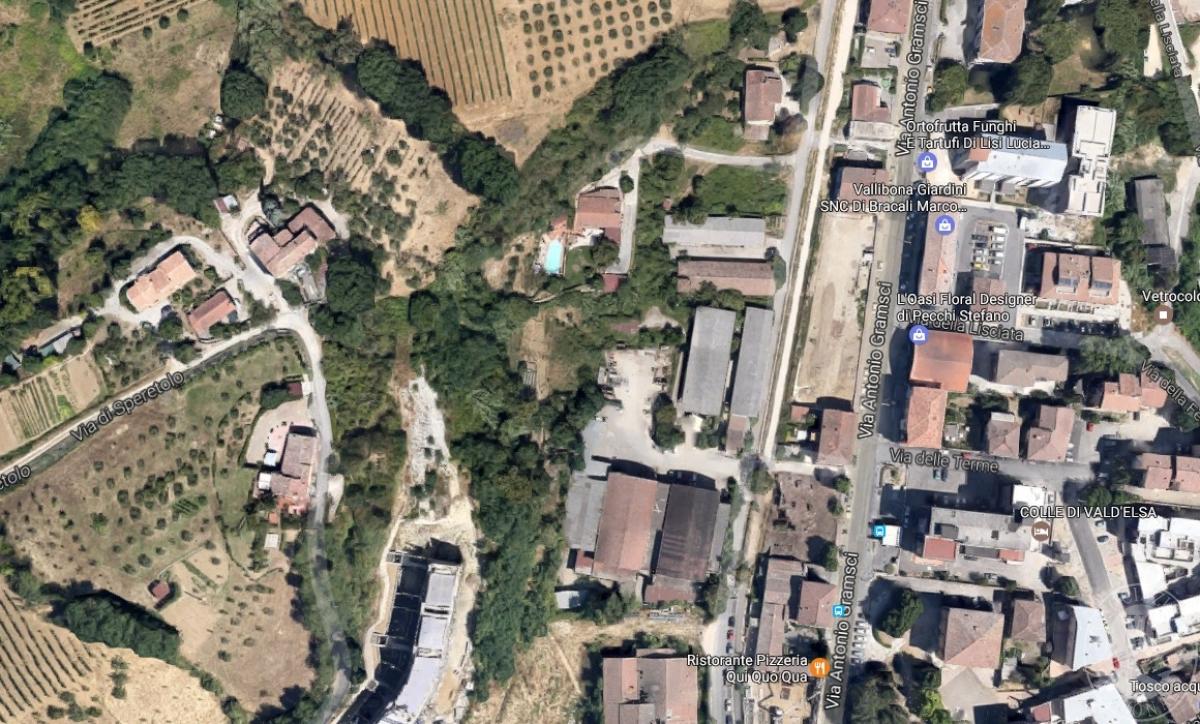 Terreni edificabili a COLLE VAL D'ELSA, località il Poggino - Lotto LA FABBRICHINA 4