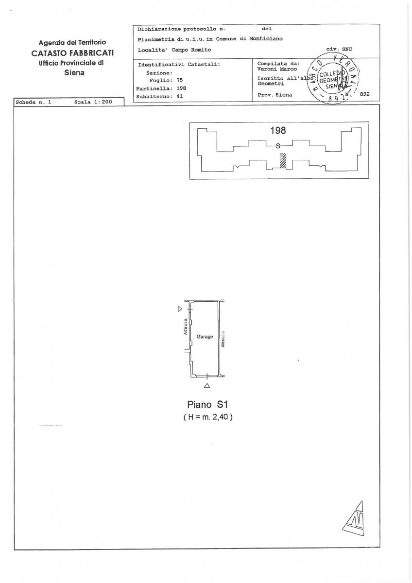 Appartamento a MONTICIANO - LOTTO 22
