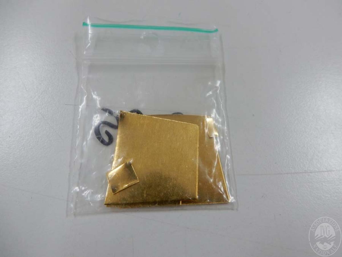Gr. 19,95 di oro puro   GARA DI VENDITA SABATO 7 DICEMBRE 2019