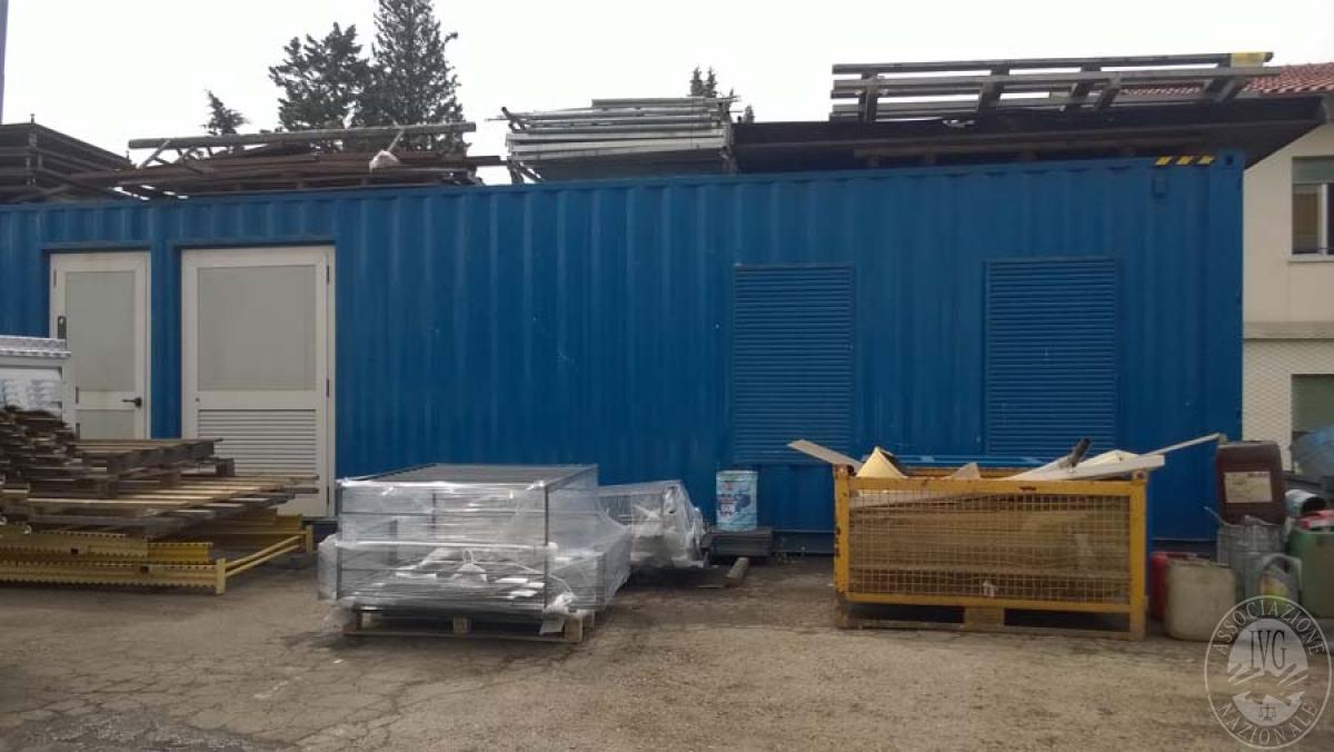 Container  GARA DI VENDITA SABATO 5 OTTOBRE 2019  VISIBILE IN SANSEPOLCRO (AR)