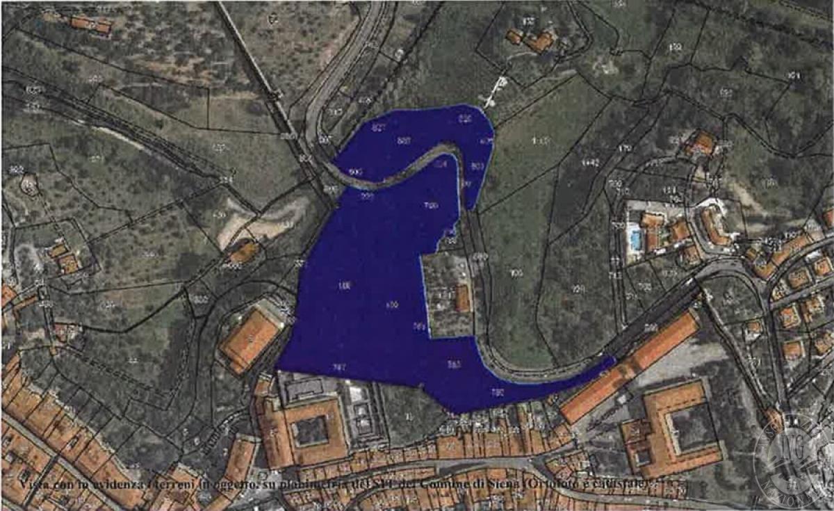 Terreni a SIENA in Via Baldassarre Peruzzi