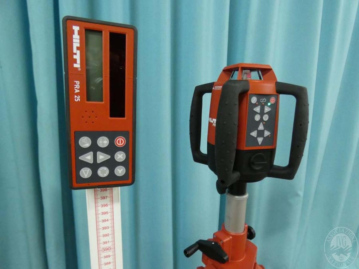 Laser rotante HILTI PR 25   GARA DI VENDITA 7 DICEMBRE 2019 5