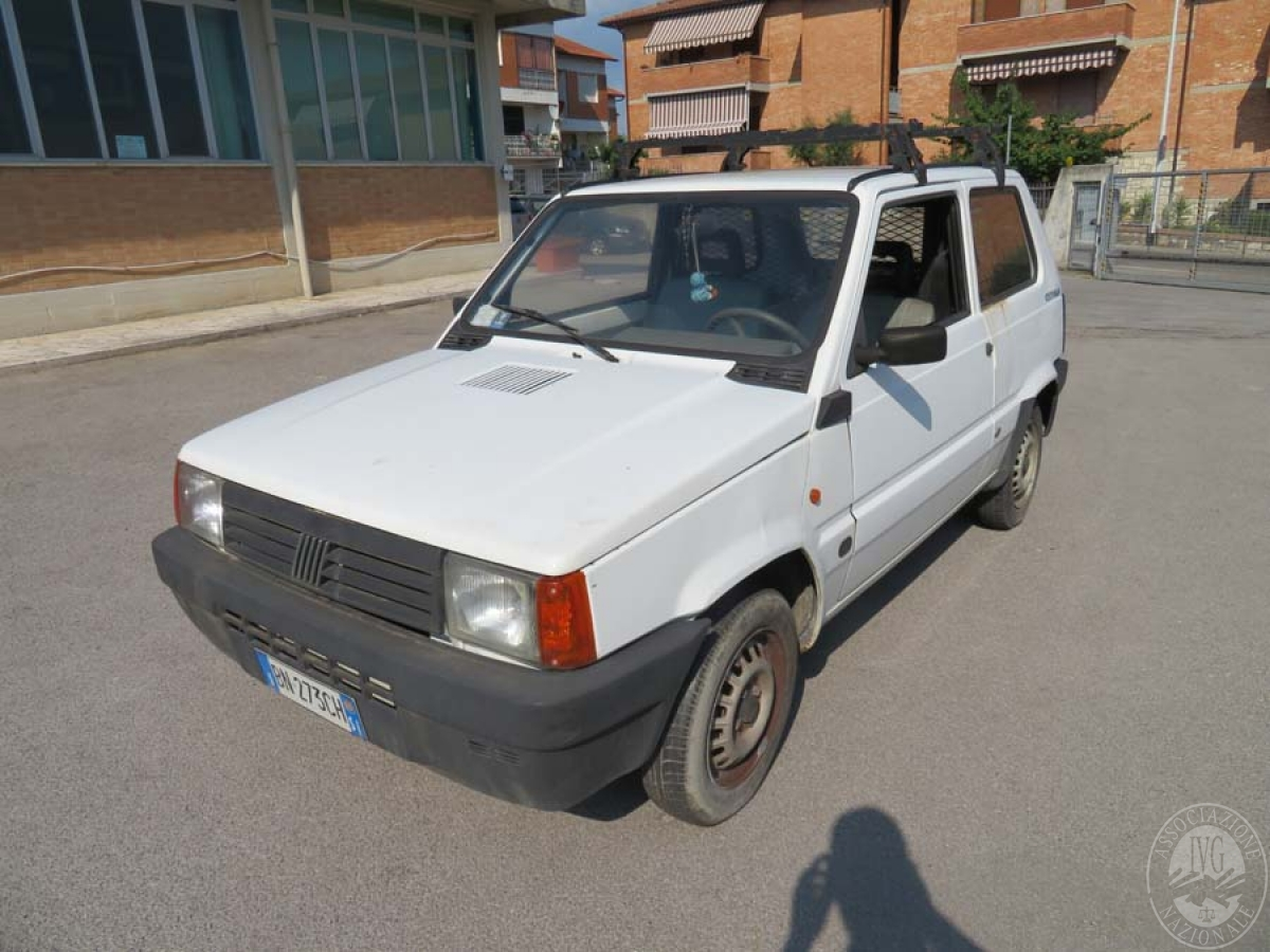 Autocarro Fiat Panda   GARA DI VENDITA 8 GIUGNO 2019  VISIBILE PRESSO DEPOSITERIA IVG SIENA