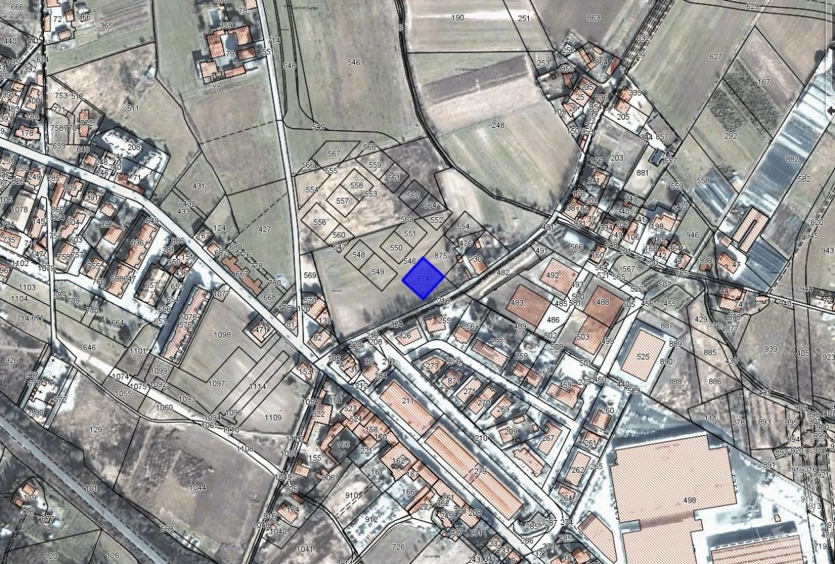 Terreni edificabili a MONTEVARCHI, via del Camminlungo - Lotto 4 0