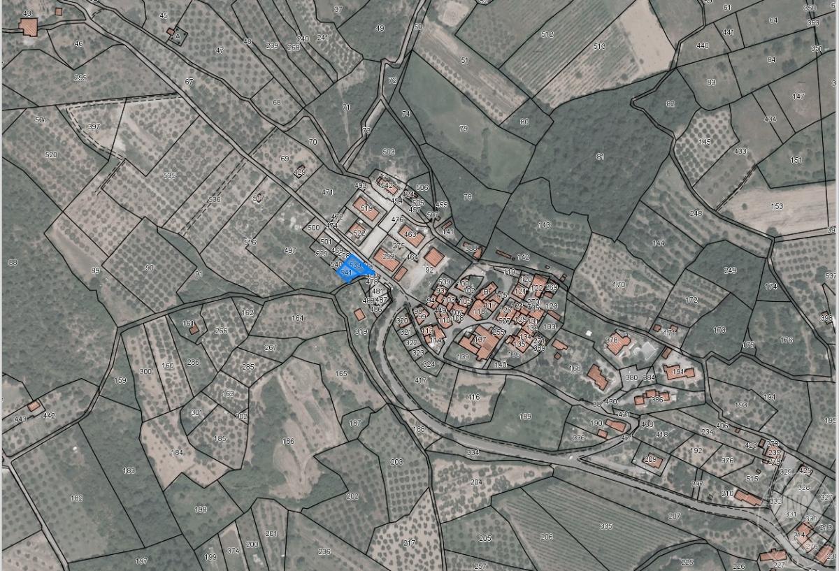 Terreno a CIVITELLA IN VAL DI CHIANA, Loc. Tuori - Lotto 8 0
