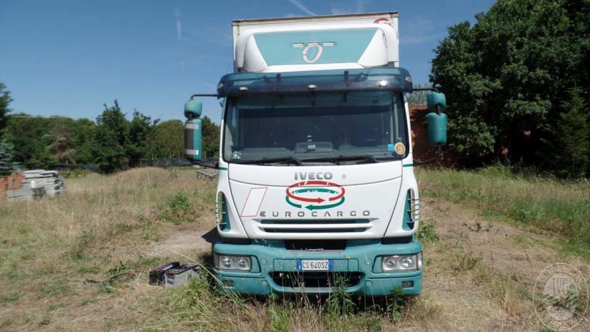 Iveco 130/120 attrezzato per trasporto di abbigliamento   GARA DI VENDITA SABATO 5 OTTOBRE 2019  VISIBILE PRESSO DEPOSITERIA IVG SIENA