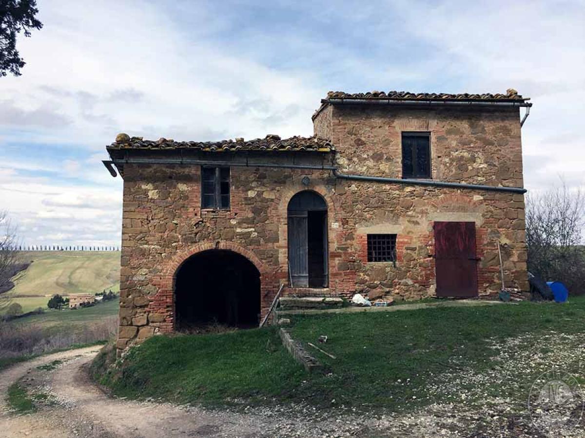 Appartamento, fabbricato agricolo, terreni a MONTALCINO - Lotto 1