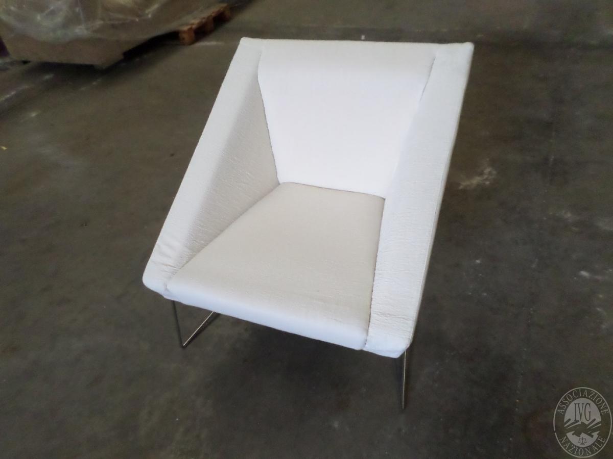 LOTTO 9A: rif. 709) cube poltrona in tessuto     VENDITA ONLINE