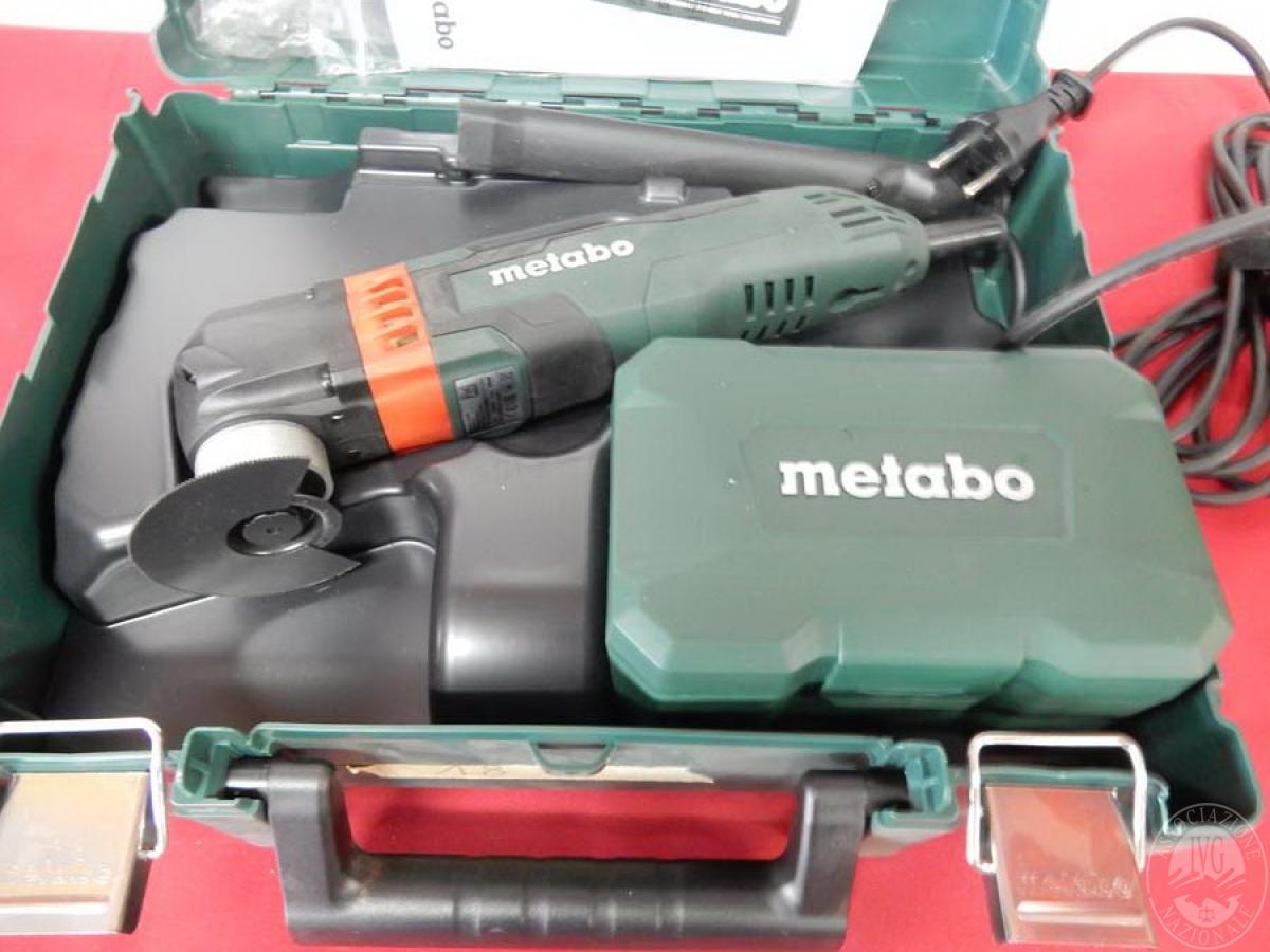 Rif. 18) Utensile Metabo MT 400 Quick, NUOVO   GARA DI VENDITA 5 OTTOBRE 2019