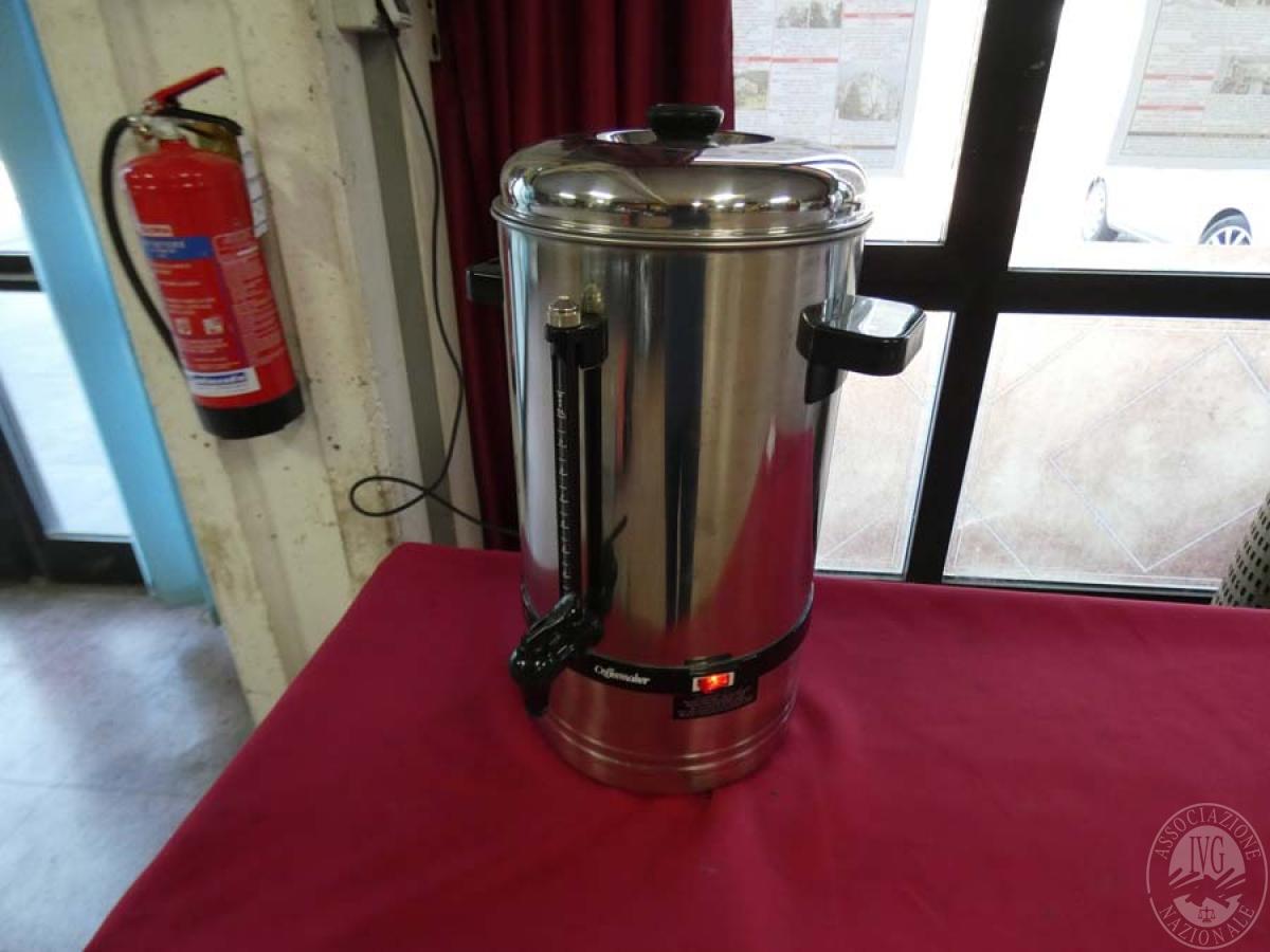 Rif. 36) Bollitore per caffè   GARA DI VENDITA SABATO 5 OTTOBRE 2019