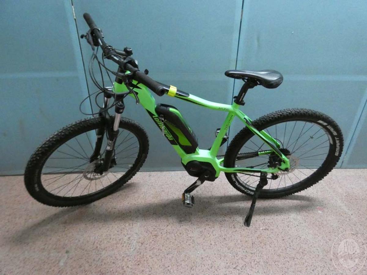 Rif. 5) Bicicletta elettrica marca Lombardo    GARA DI VENDITA 7 DICEMBRE 2019