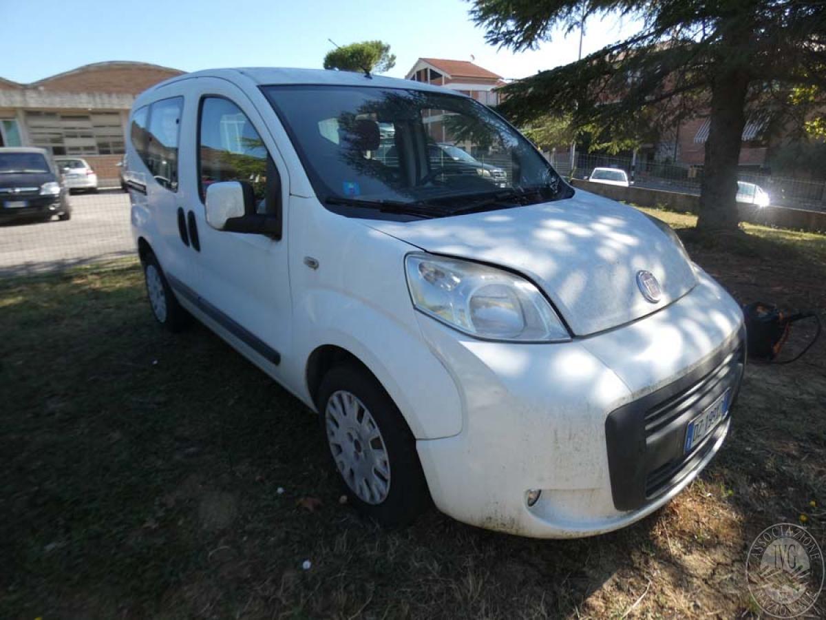 Fiat Qubo anno 2010  GARA DI VENDITA 7 DICEMBRE 2019  VISIBILE PRESSO DEPOSITERIA IVG SIENA