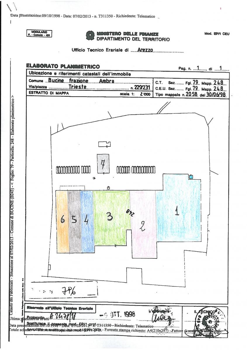 Fabbricato Industriale - Magazzino a BUCINE, Fraz. Ambra - lotto 4 2