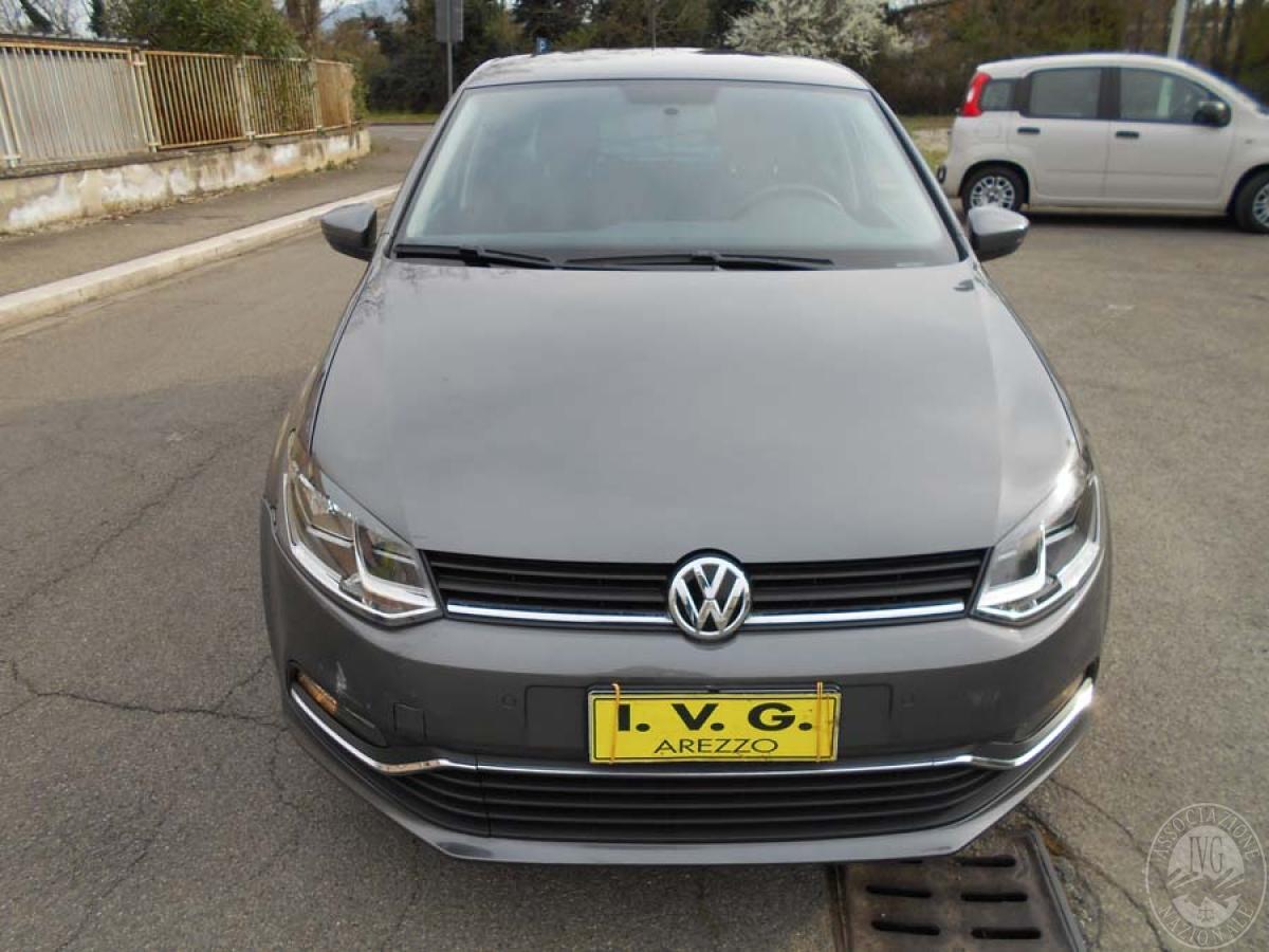 Autovettura Volkswagen Polo TDI anno 2016 - Km. 17.000   GARA ONLINE 25 GIUGNO 2021 0