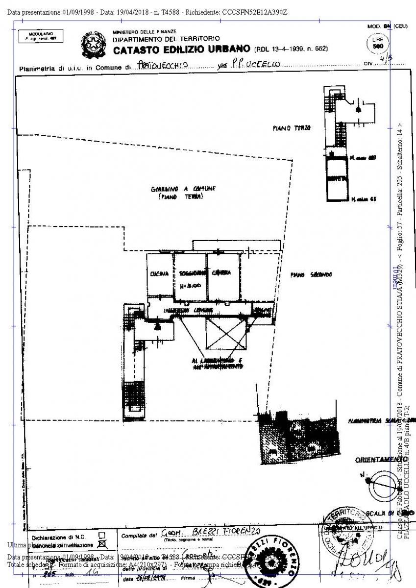 Appartamento e laboratorio a PRATOVECCHIO STIA in Piazza Paolo Uccello - Lotto 1 3