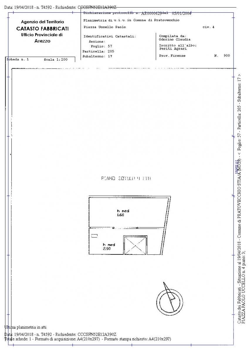 Appartamento e laboratorio a PRATOVECCHIO STIA in Piazza Paolo Uccello - Lotto 1 5