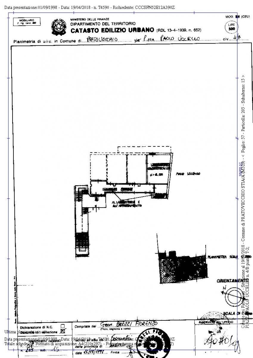 Appartamento e laboratorio a PRATOVECCHIO STIA in Piazza Paolo Uccello - Lotto 1 4