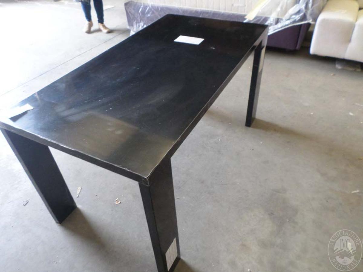 LOTTO 37: rif. 734) prototipo tavolo dado         VENDITA ONLINE 4 OTTOBRE 2020
