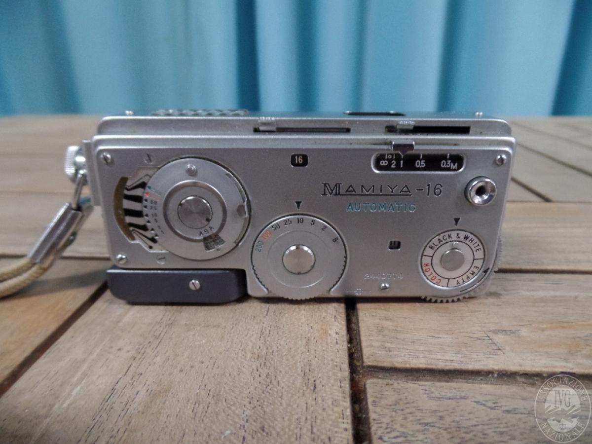 Rif. 39) Fotocamera Mamiya 16 automatic    GARA DI VENDITA 15 DICEMBRE 2020