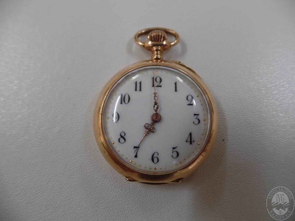Rif. 12) Orologio da tasca   GARA ONLINE 12 NOVEMBRE 2020