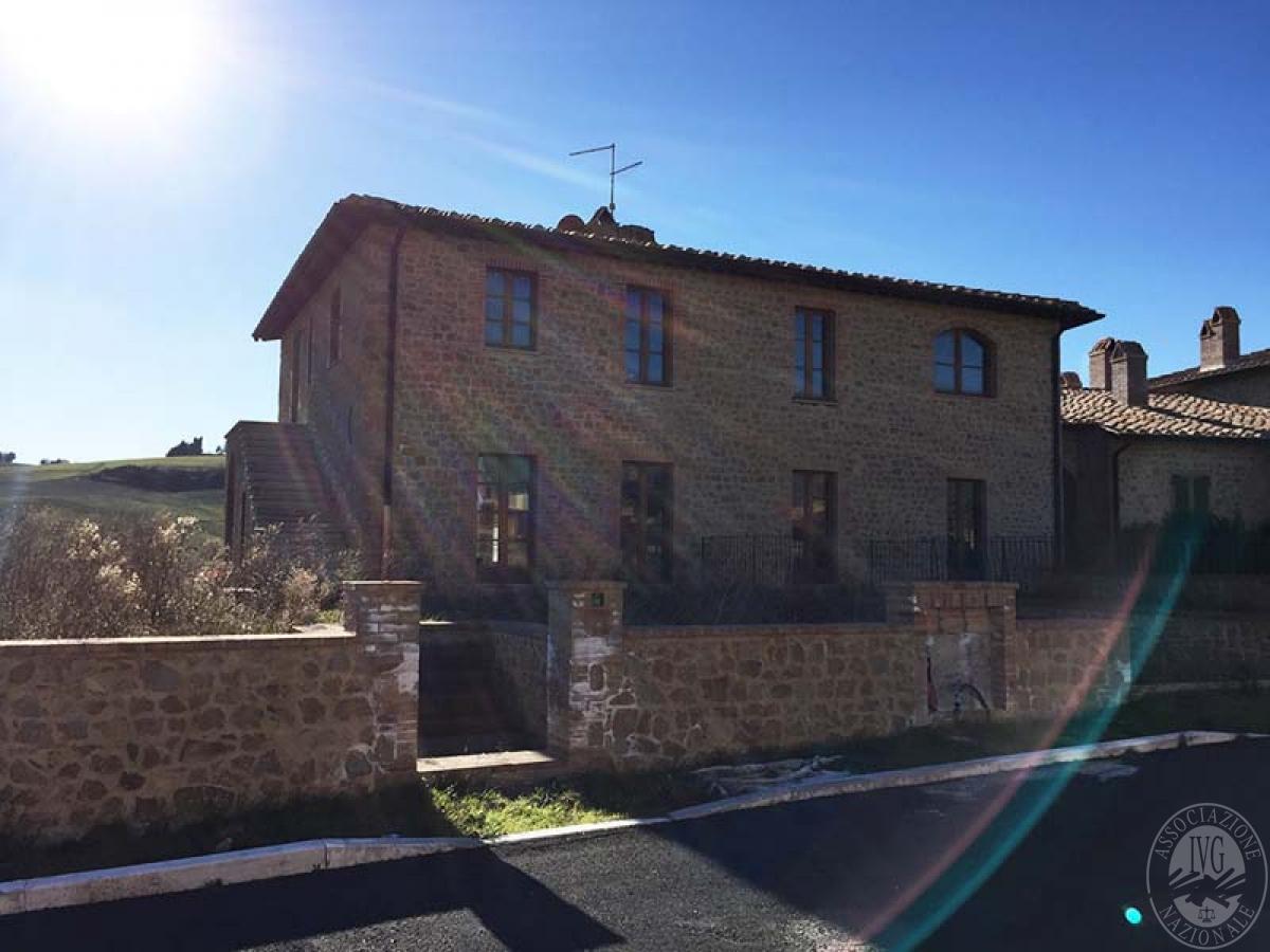 4 appartamenti a PIENZA, loc. Monticchiello - Lotto 4 1