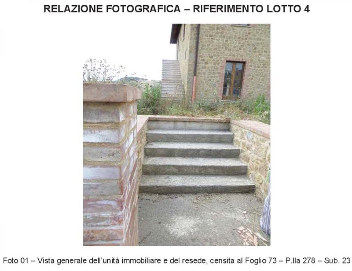 4 appartamenti a PIENZA, loc. Monticchiello - Lotto 4 2