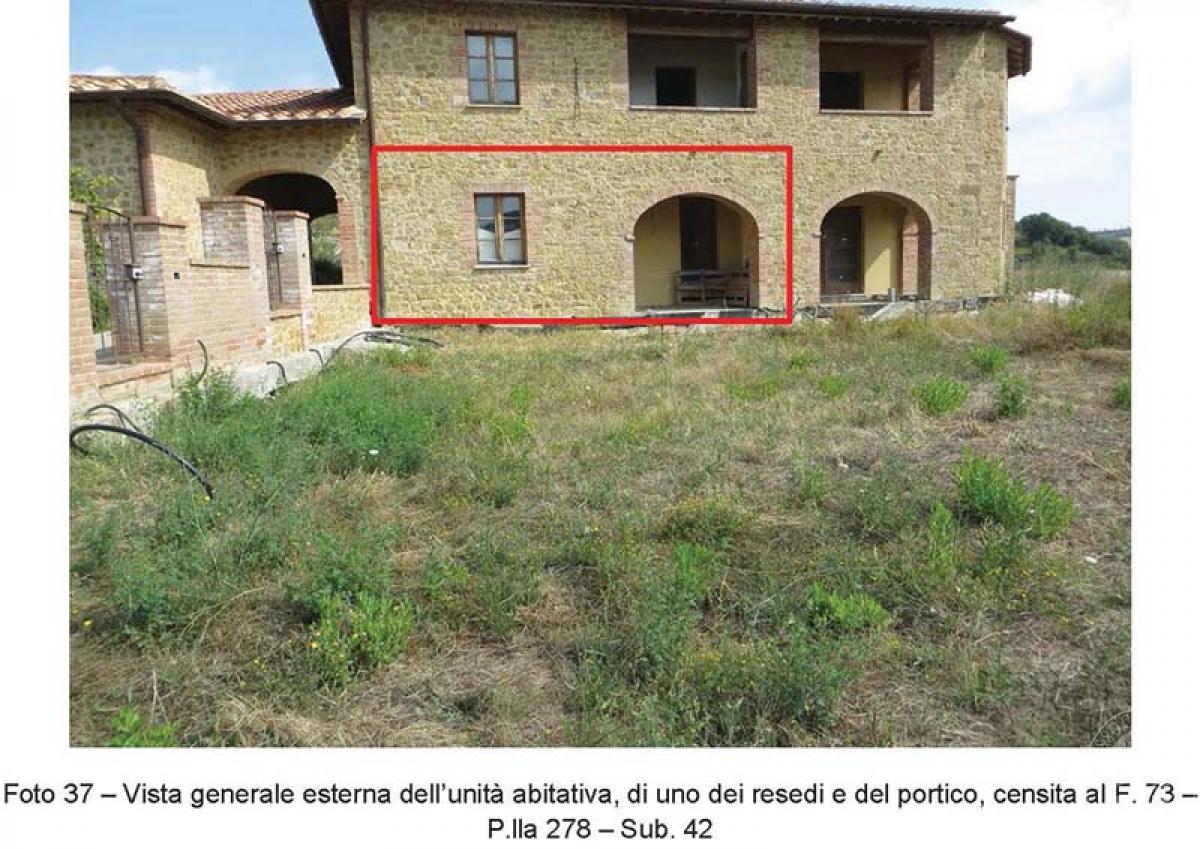 4 appartamenti a PIENZA, loc. Monticchiello - Lotto 4 16