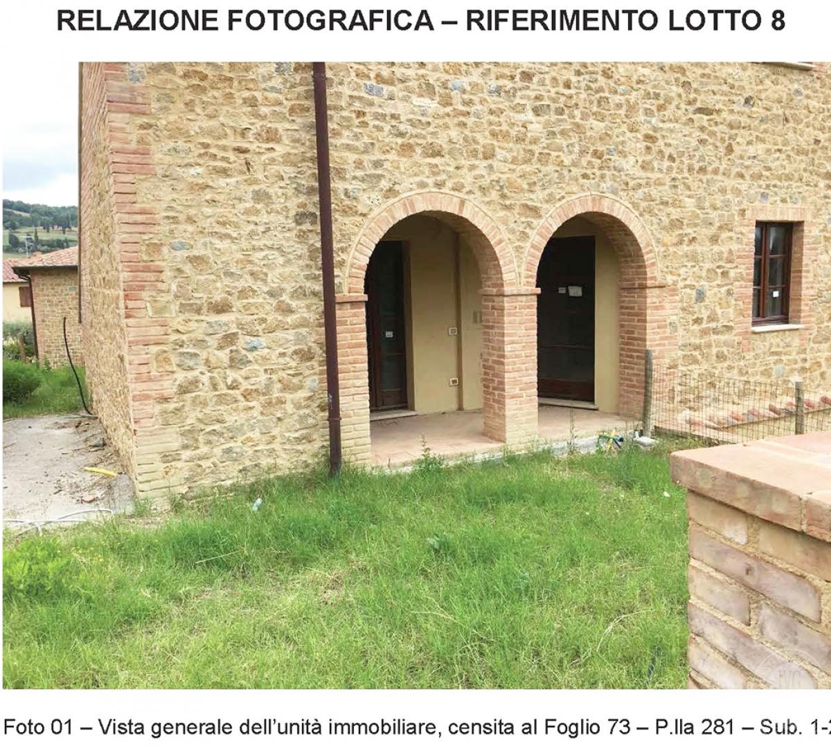 Appartamento a PIENZA, loc. Monticchiello - Lotto 8 2