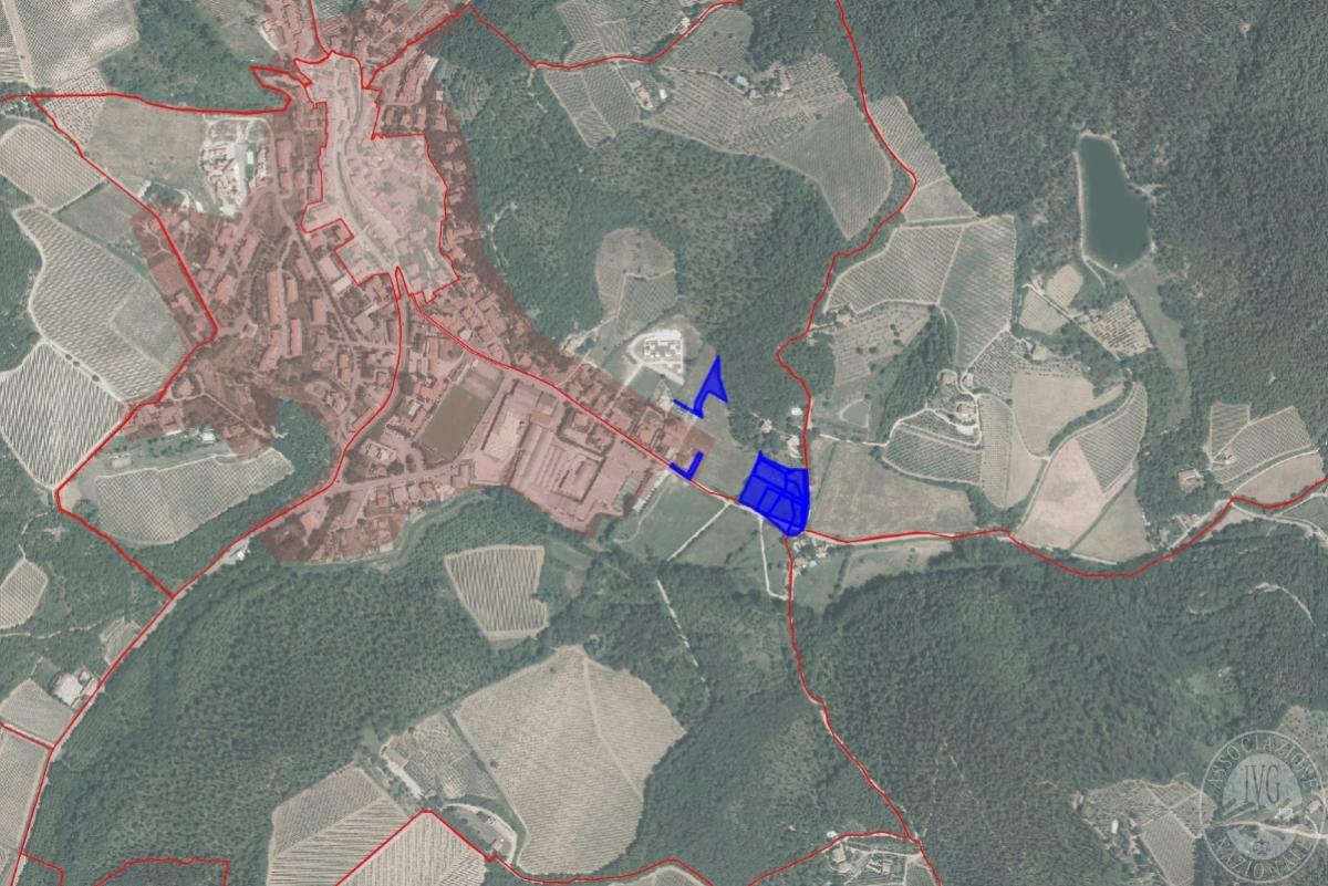 Terreni EDIFICABILI a  GAIOLE IN CHIANTI, via Marconi -  Lotto 1