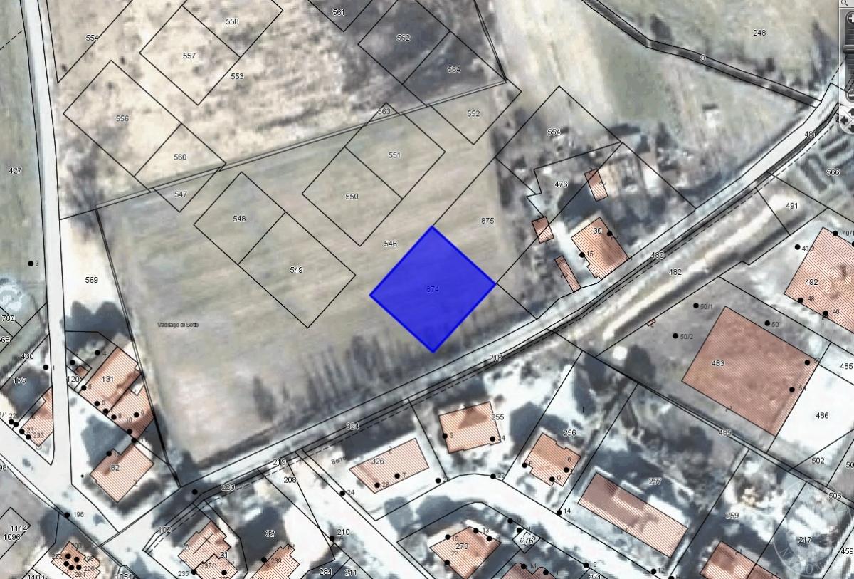 Terreni edificabili a MONTEVARCHI, via del Camminlungo - Lotto 4