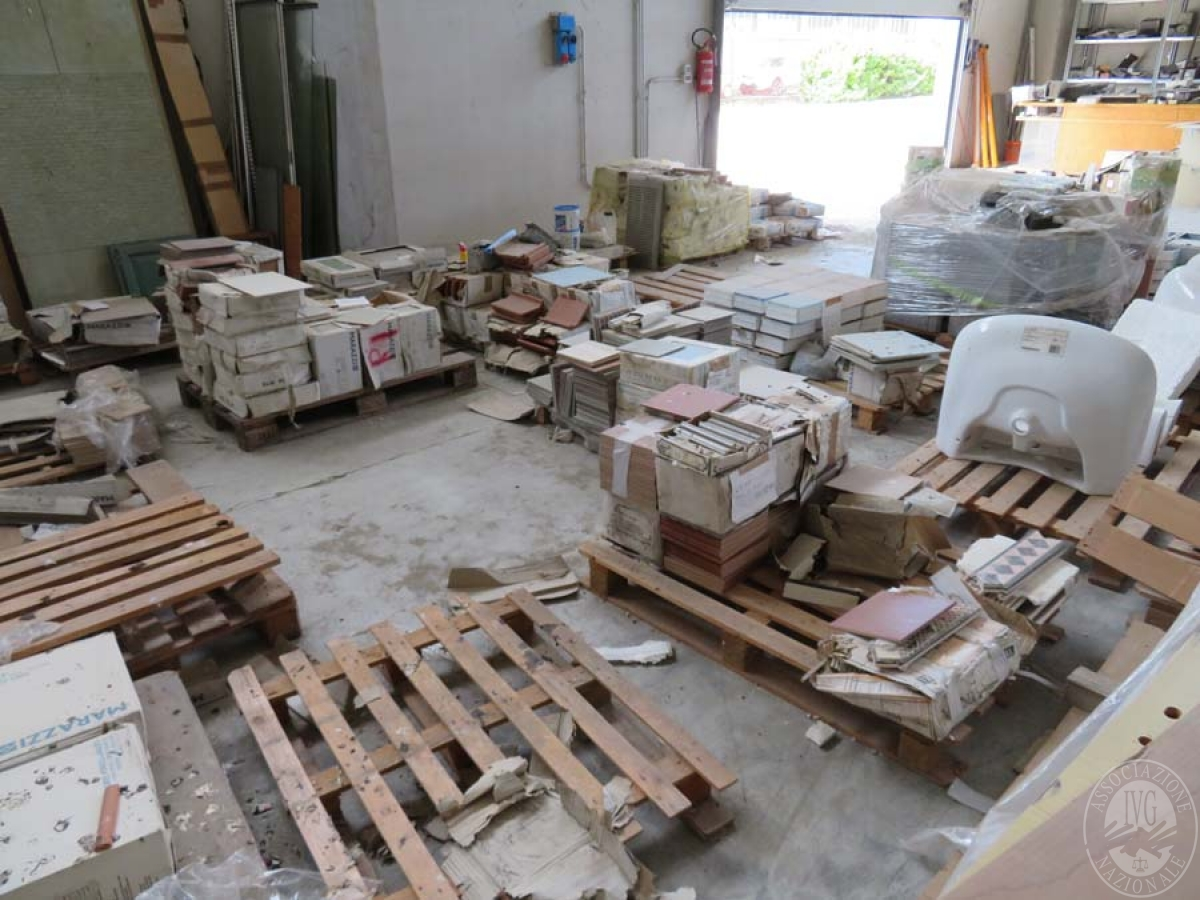 Materiale edile + arredo ufficio    GARA ONLINE 28 MAGGIO 2021 4