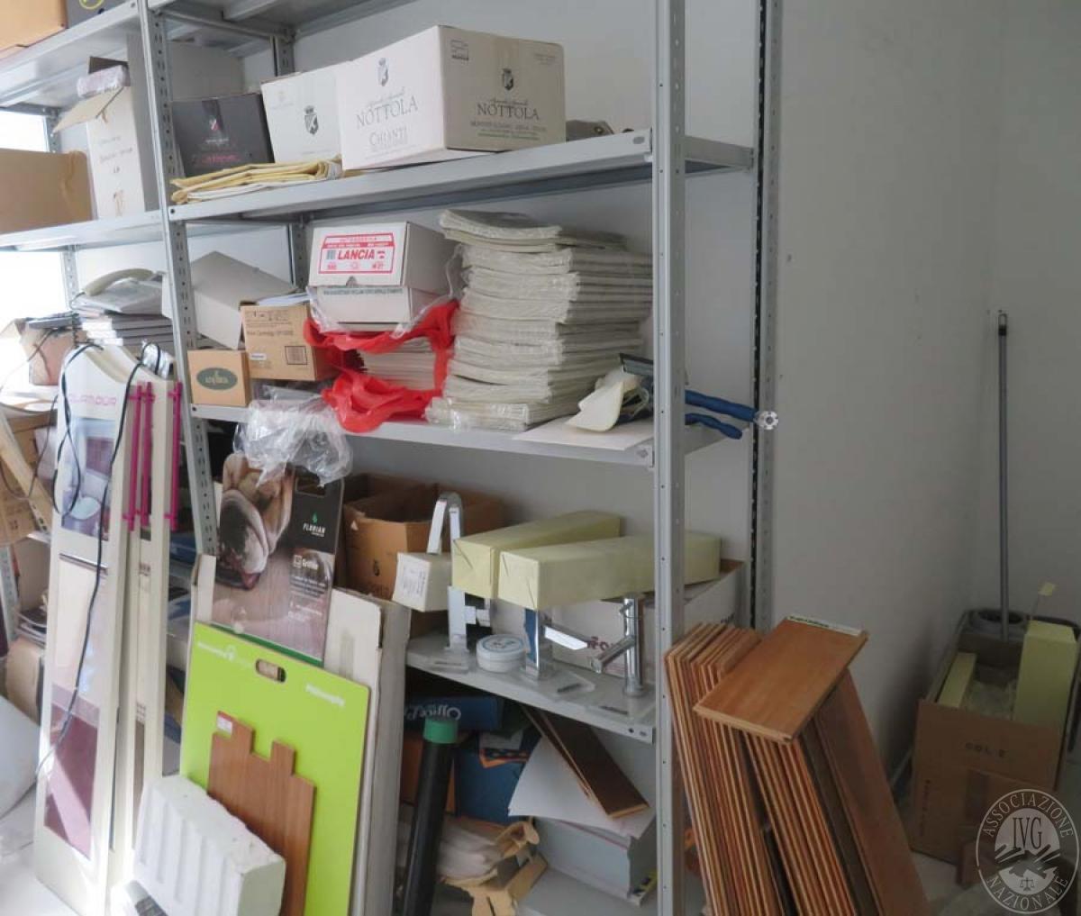 Materiale edile + arredo ufficio    GARA ONLINE 28 MAGGIO 2021 28
