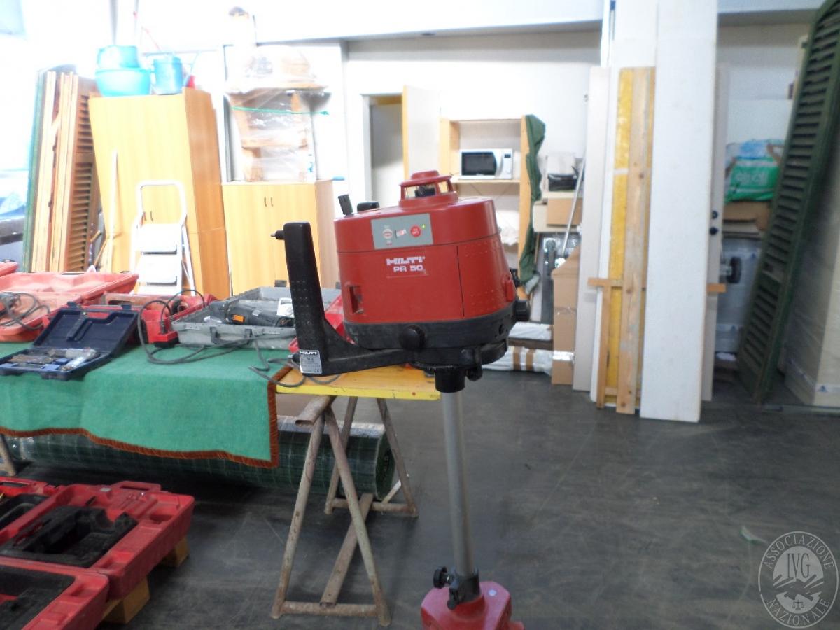 Livella automatica laser HILTI   GARA ONLINE 14 MAGGIO 2021