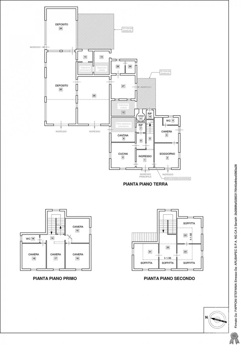 Casa colonica a CORTONA in C.S. Chianacce 29