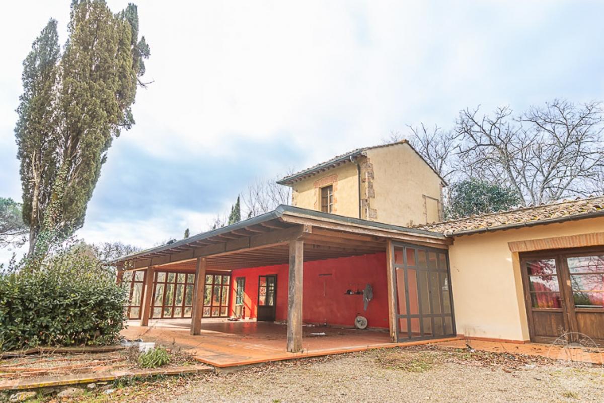 Villa e ristorante a CASOLE D'ELSA in loc. Mucellena-Maggiano 1