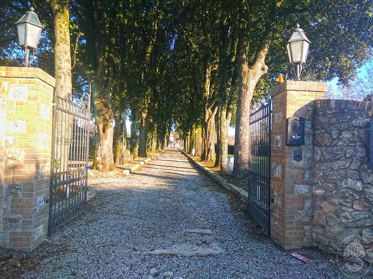 Villa e ristorante a CASOLE D'ELSA in loc. Mucellena-Maggiano 37