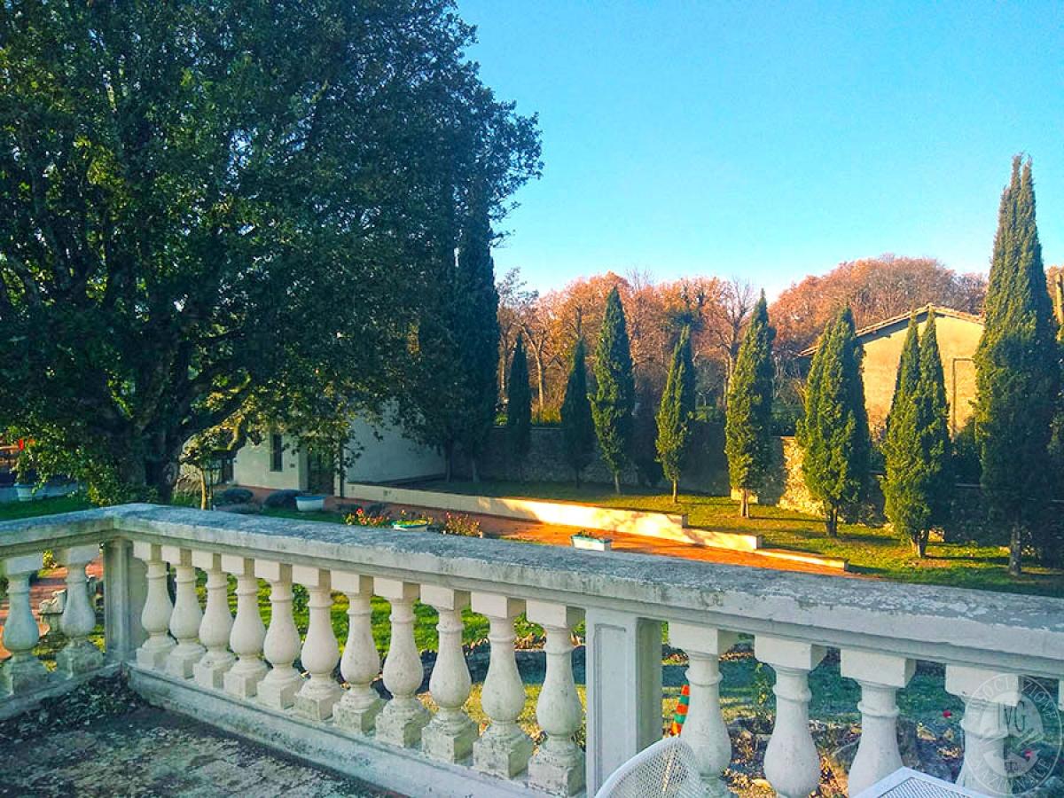 Villa e ristorante a CASOLE D'ELSA in loc. Mucellena-Maggiano 46