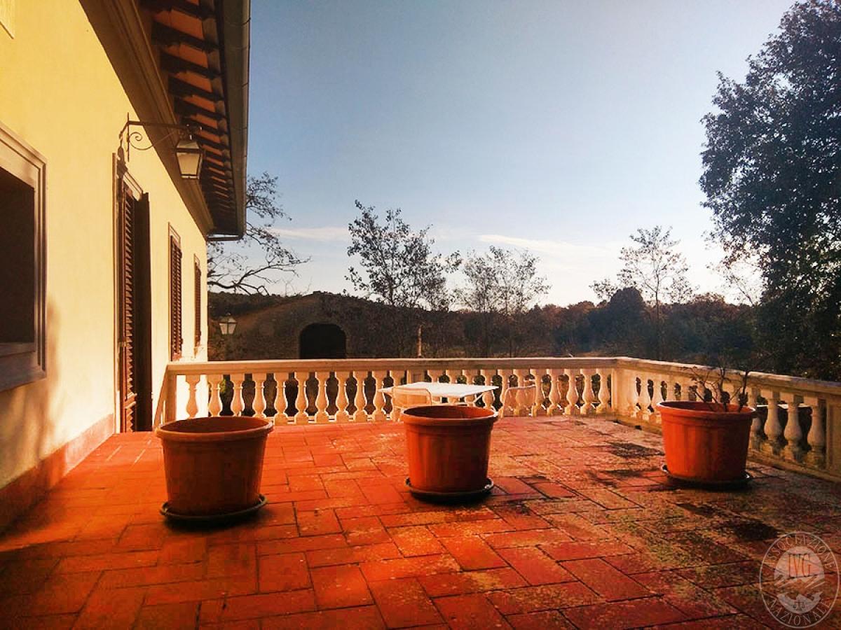 Villa e ristorante a CASOLE D'ELSA in loc. Mucellena-Maggiano 45