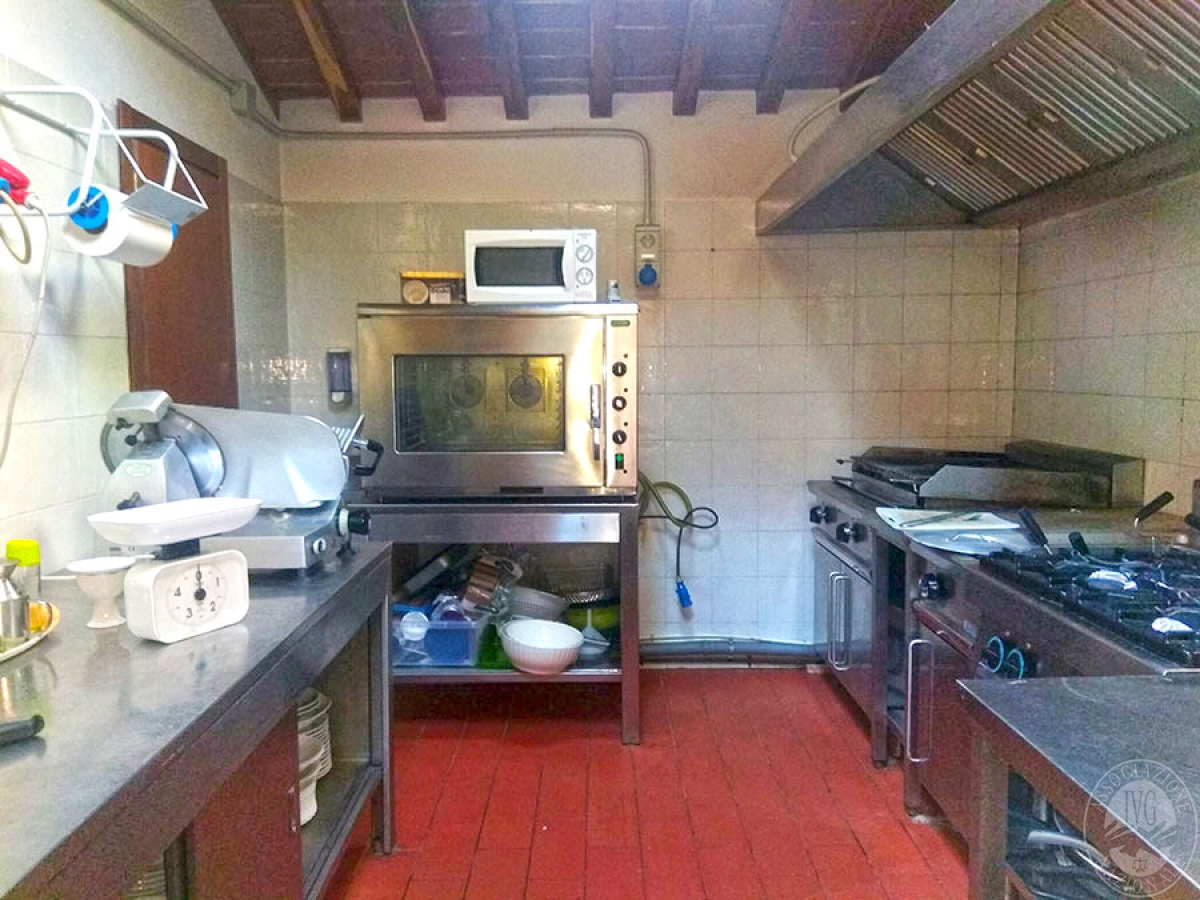Villa e ristorante a CASOLE D'ELSA in loc. Mucellena-Maggiano 54